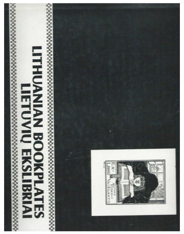 Lietuvių ekslibriai / Lithuanian Bookplates - Vengris Vitolis E.