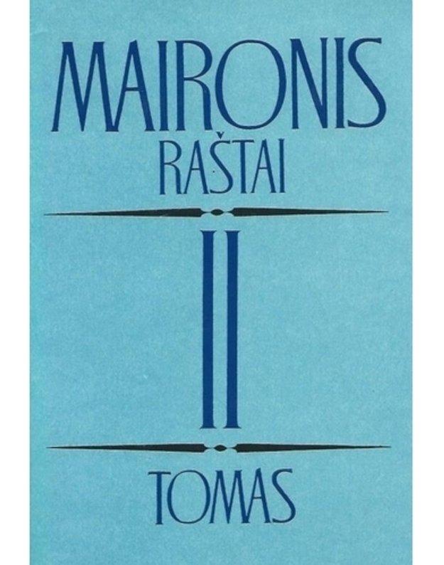 Maironis. Raštai, 3 tomai. T. 2 - Maironis