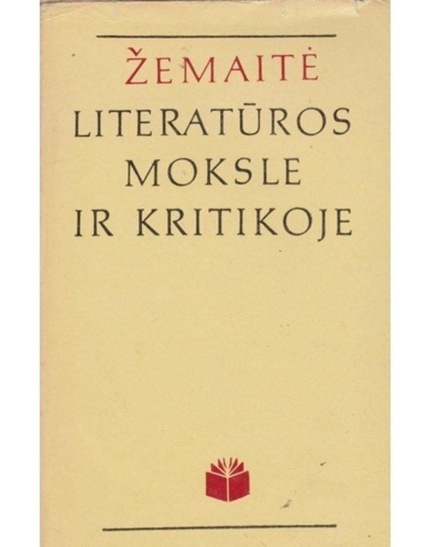 Žemaitė literatūros moksle ir kritikoje / 8-oji serijos knyga - Umbrasaitė Rimantė, sudarytoja